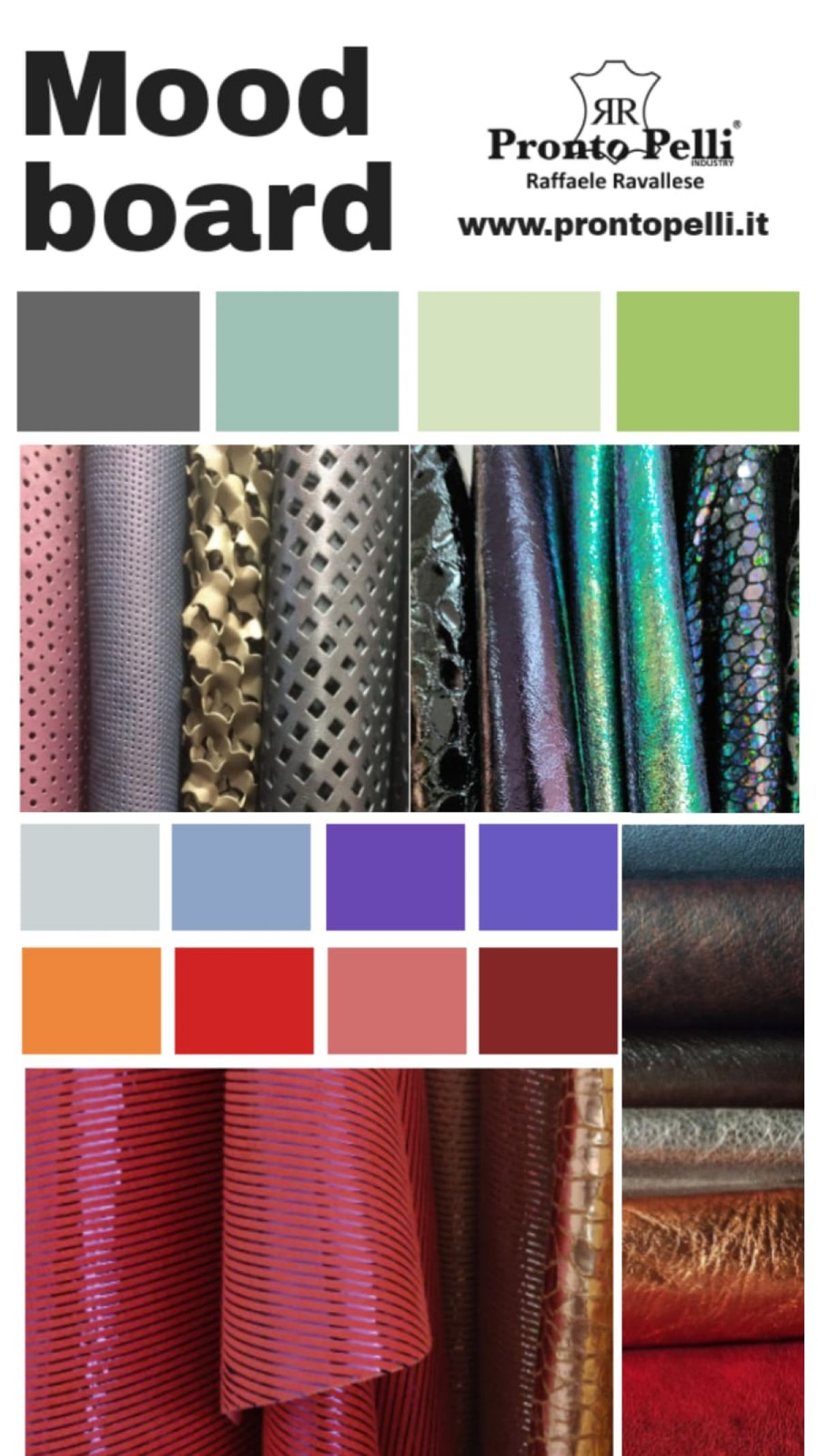 Trends and Colors- The Moodboard to let yourself be inspired